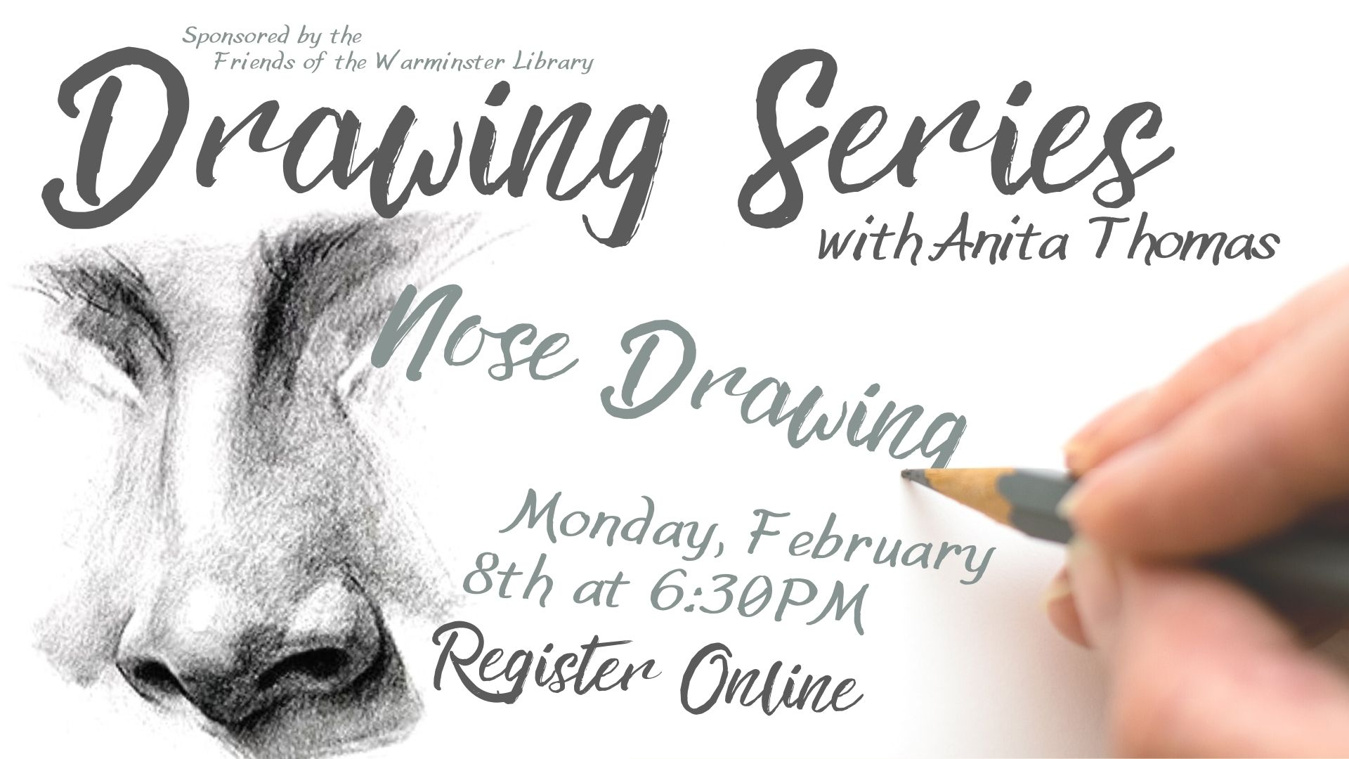Drawing Series: Nose Drawing
