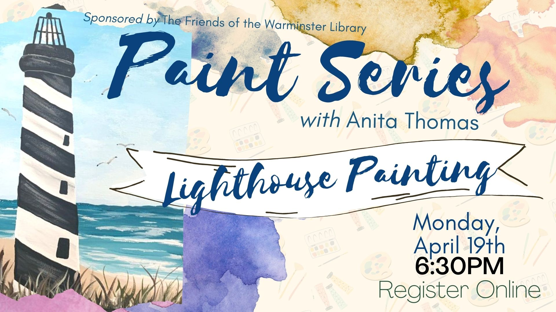 Painting Series: Lighthouse Painting