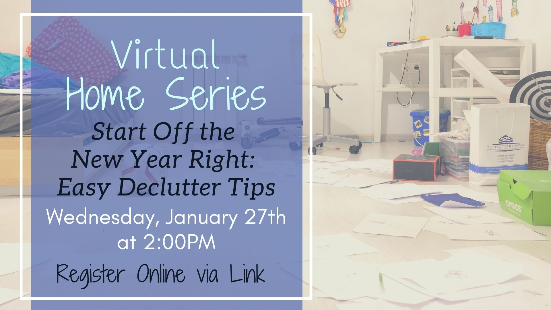 Home Series: Start the Year Right with These Easy Declutter Tips!