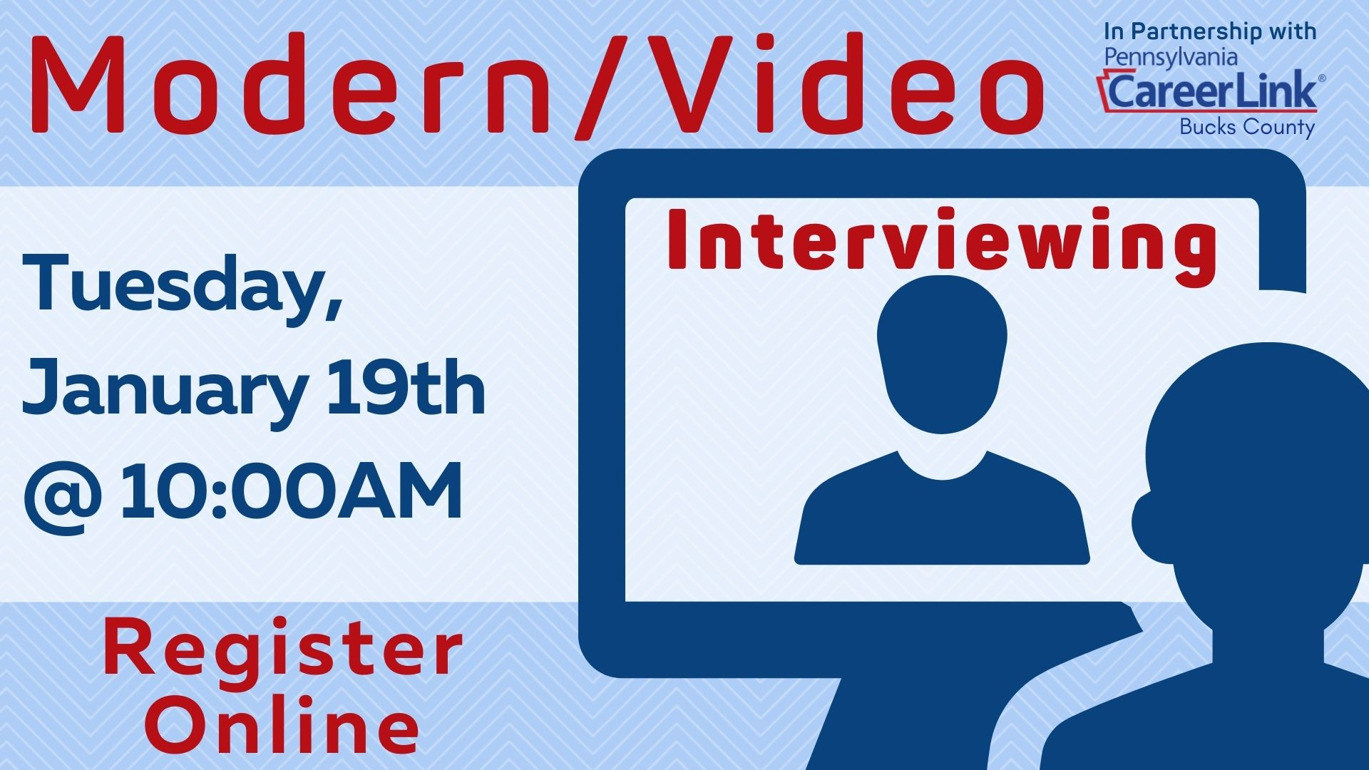 PA CareerLink: Modern Interviewing/Video Interviewing