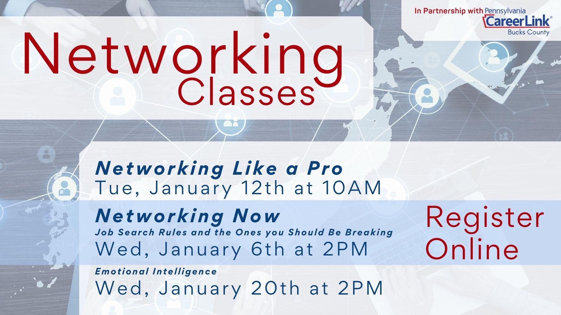 PA CareerLink: Networking Now