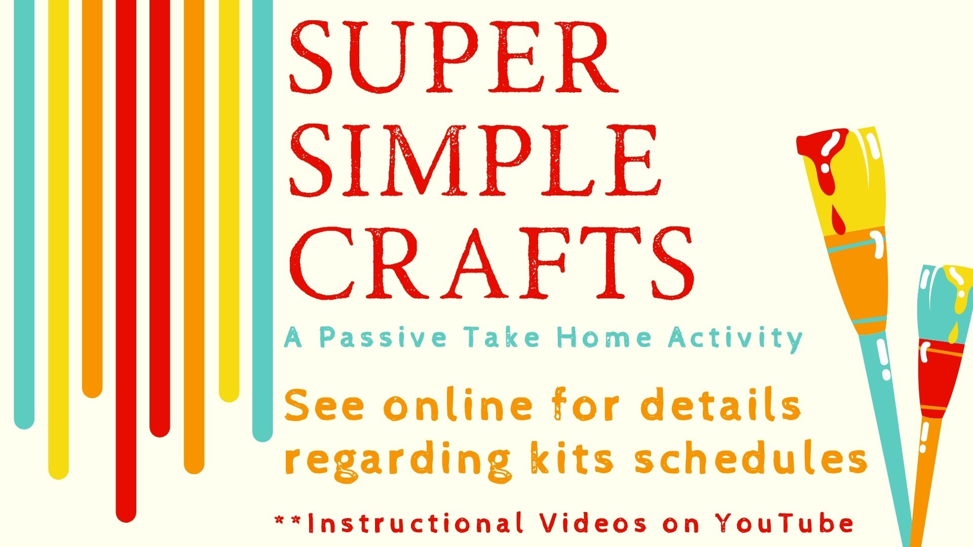 Super Simple Craft [Take Home Kits]