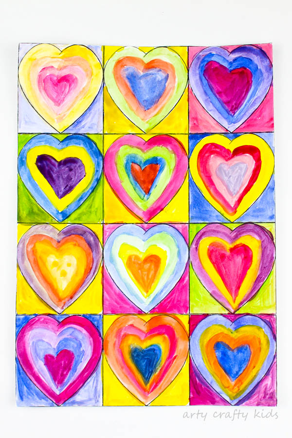 Art with Ms. Leigh- Valentine Art