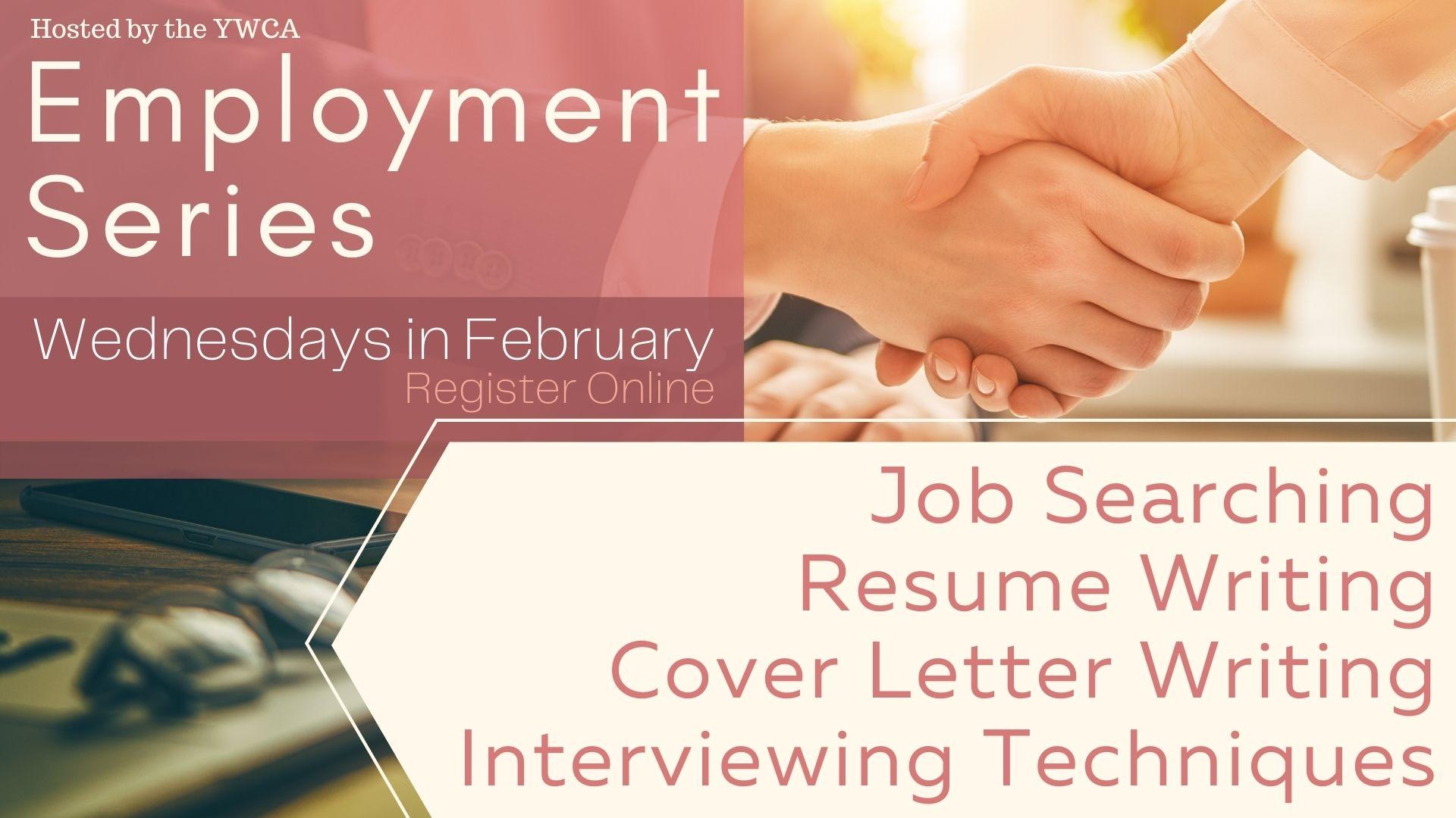 YWCA Employment Series: Resume Writing
