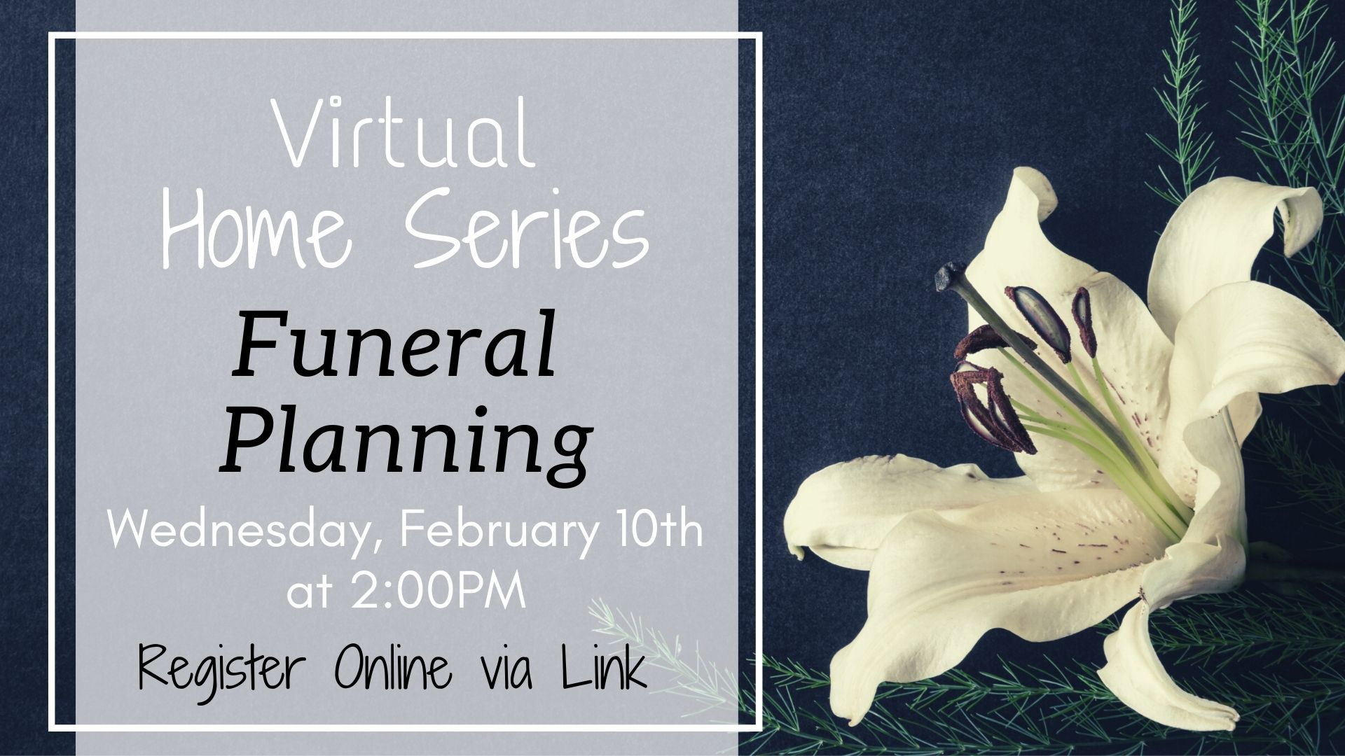 Home Series: Funeral Planning