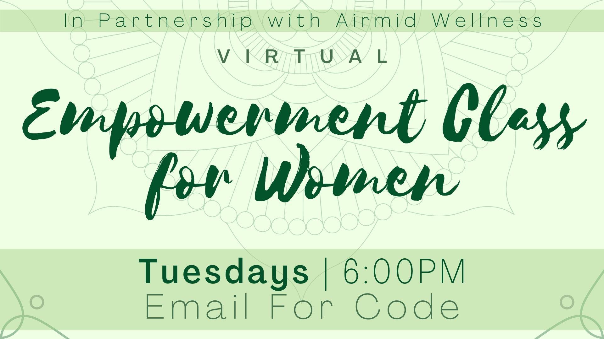Empowerment Class for Women
