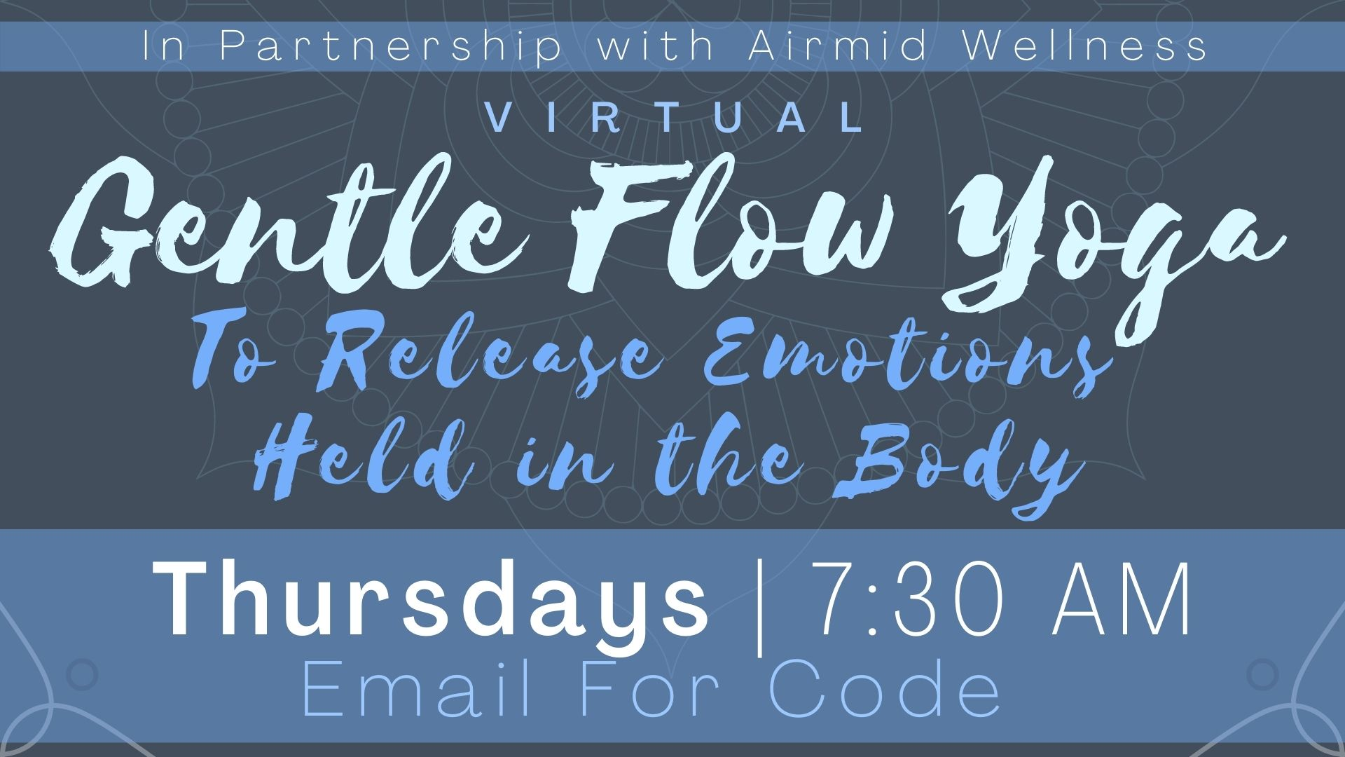 Gentle Flow Yoga to Release Emotions Held in the Body