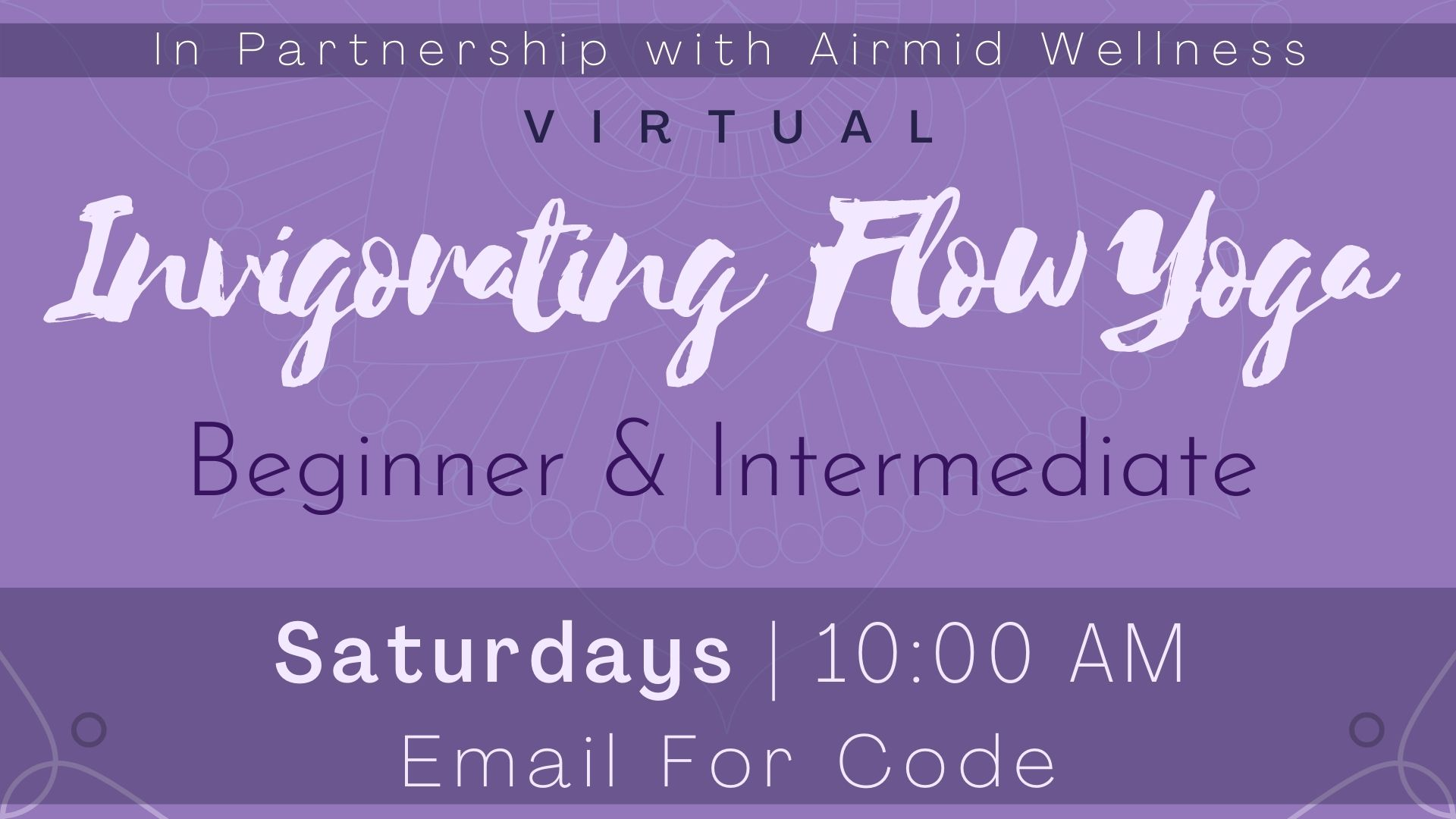 Invigorating Flow Yoga for Beginners and Intermediate