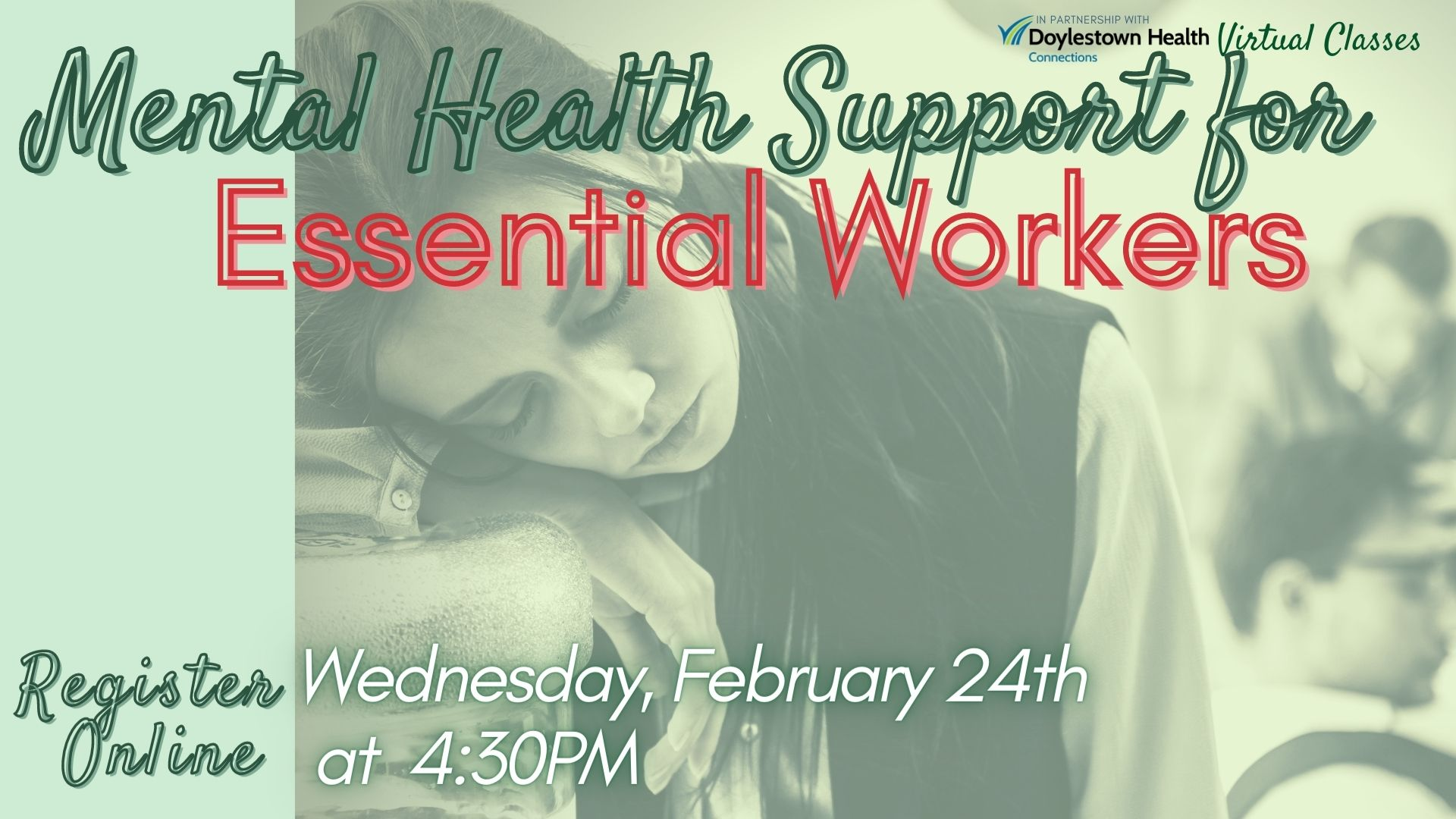 Mental Health Support for Essential Workers