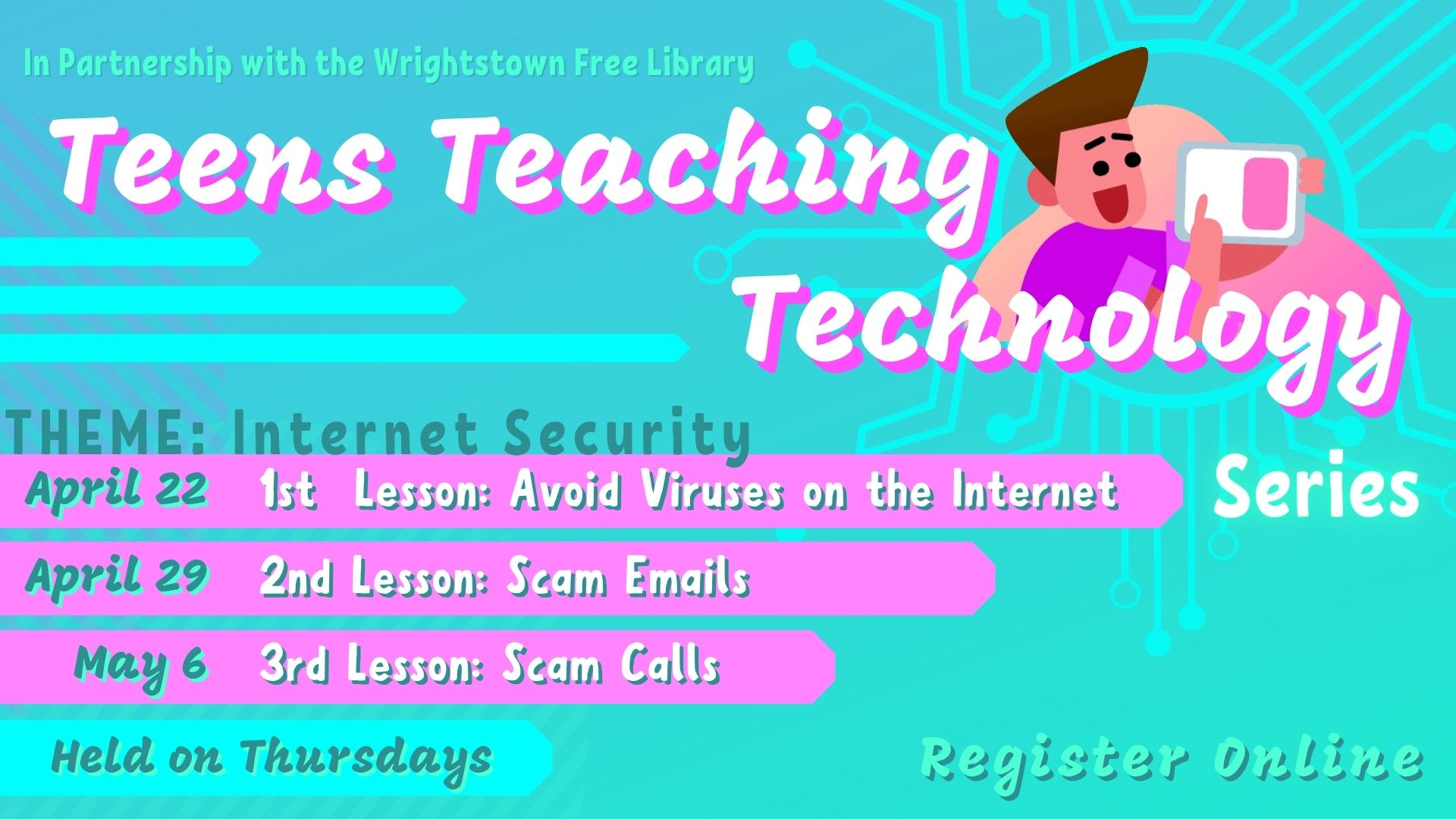 Teens Teaching Technology Series: Internet Security - Avoiding Viruses