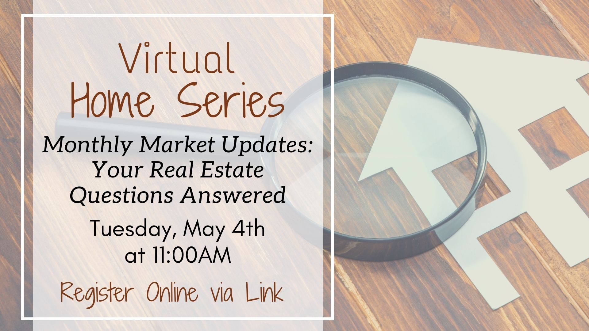 Home Series: Monthly Market Updates - Your Real Estate Questions Answered
