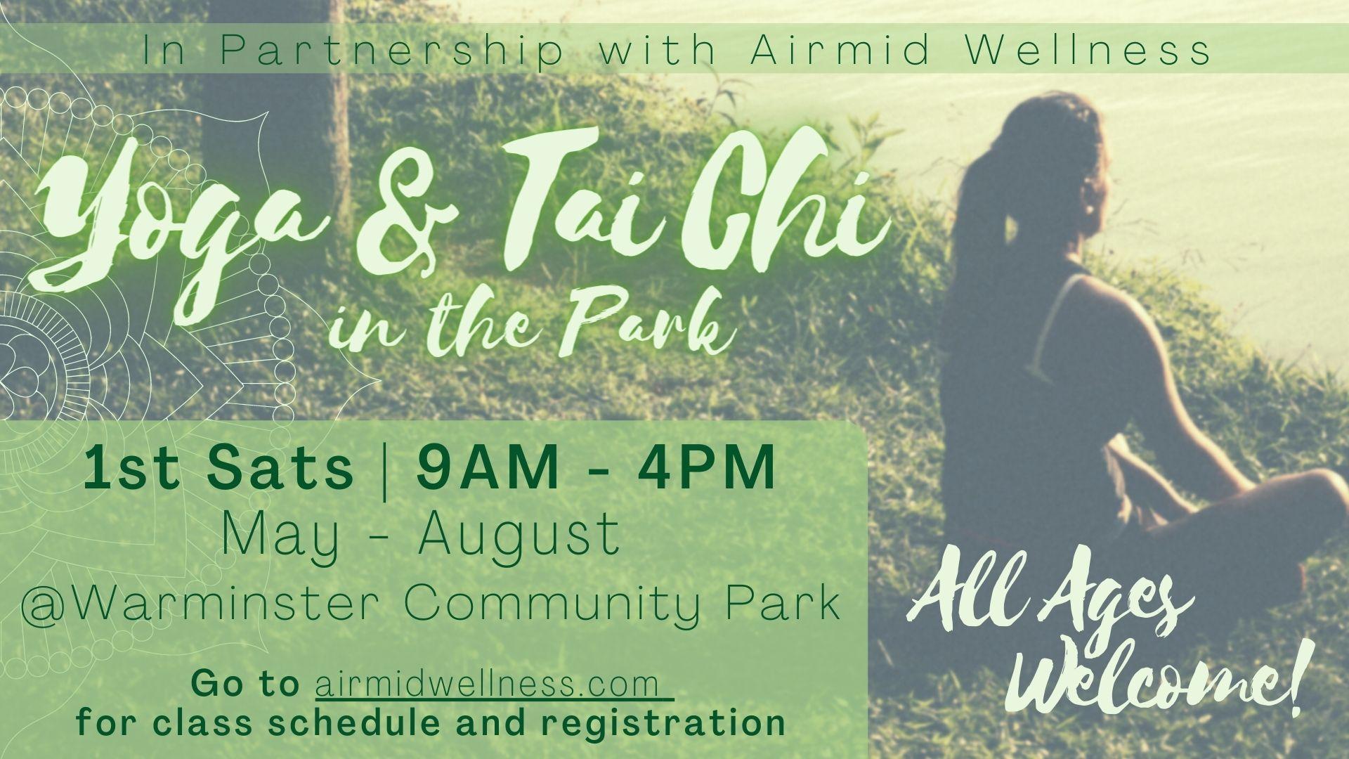 Yoga & Tai Chi in the Park
