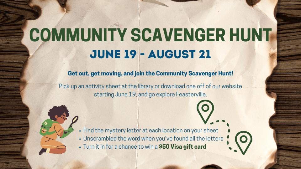 Community Scavenger Hunt Ends