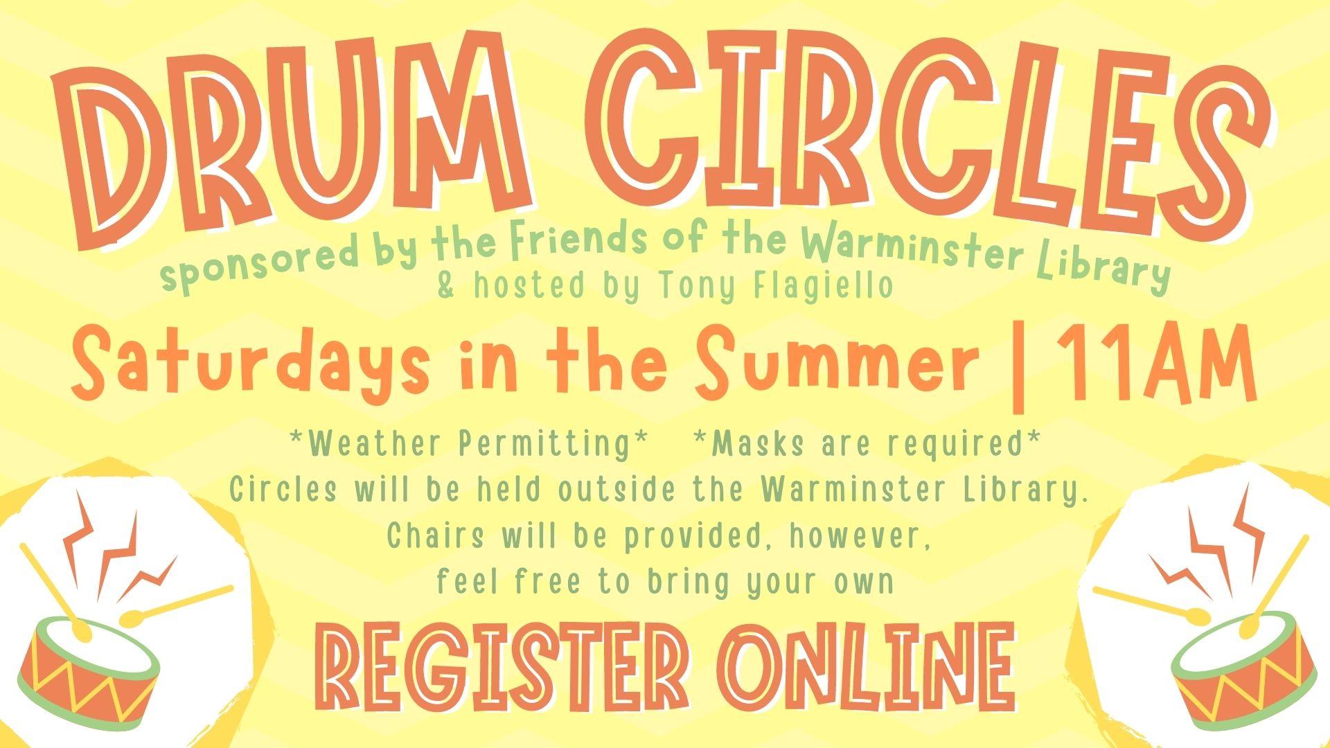Summer Drum Circles