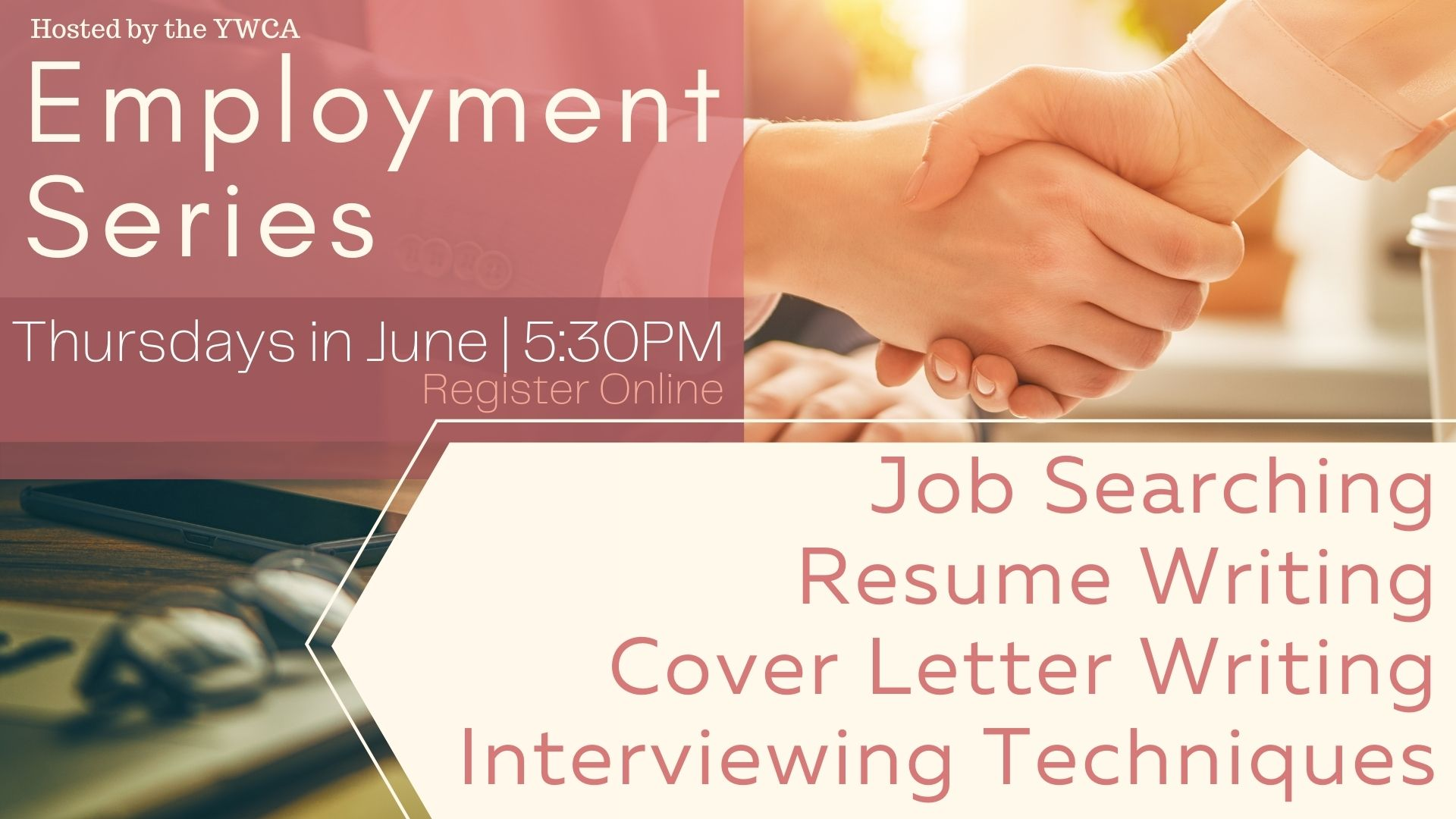 YWCA Employment Series: Cover Letter Writing