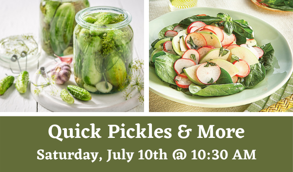 Quick Pickles & More