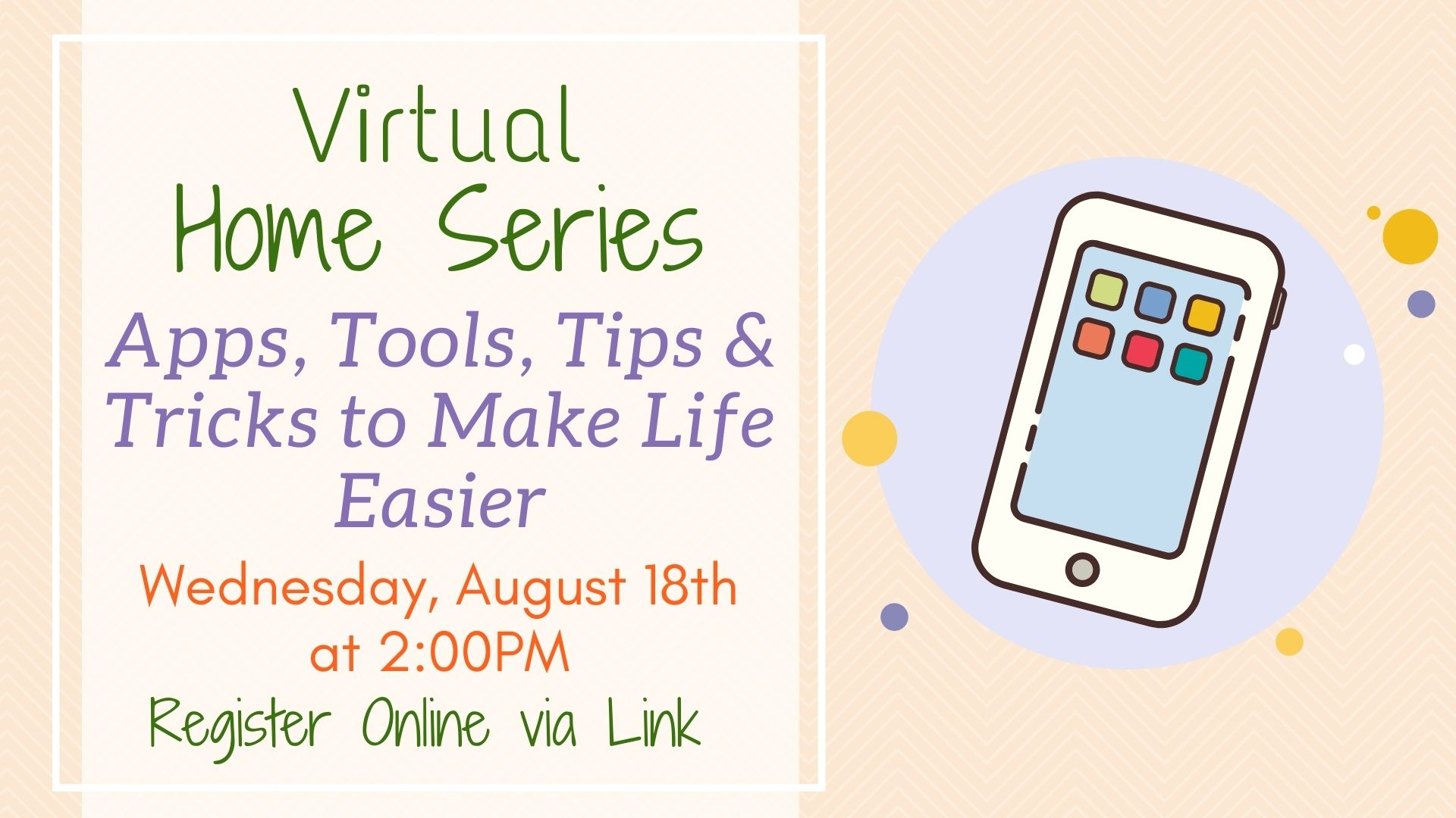 Home Series: Apps, Tools, Tips & Tricks to Make Your Life Easier!