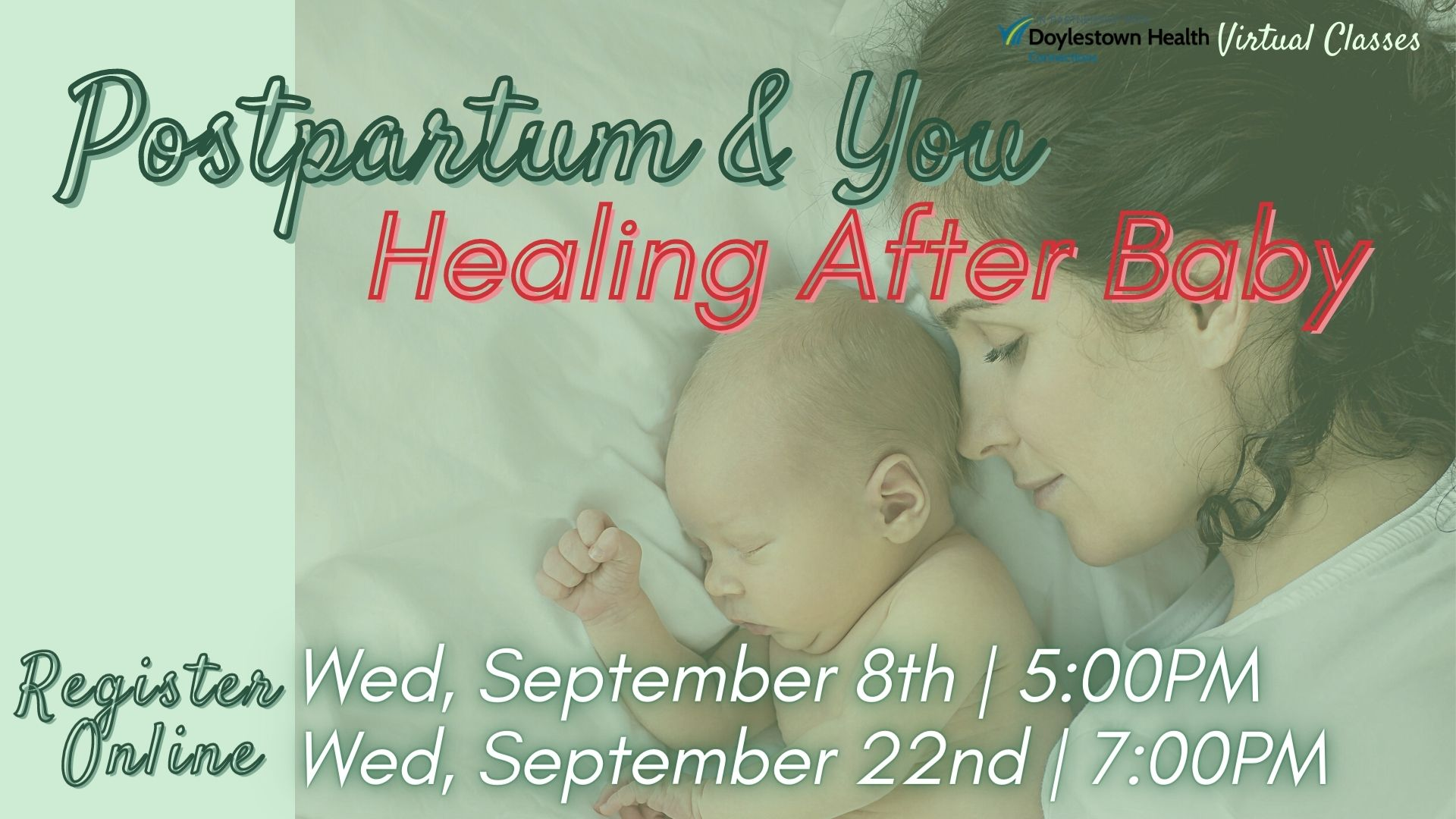 Postpartum & You: Healing After Baby