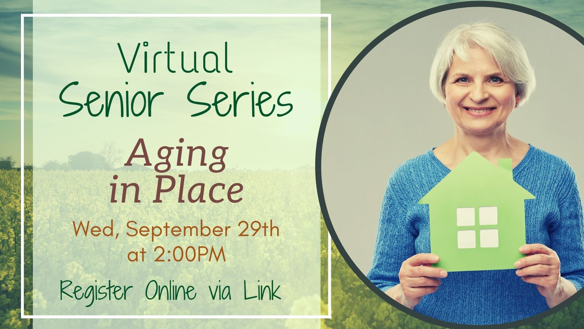 Senior Series: Aging in Place