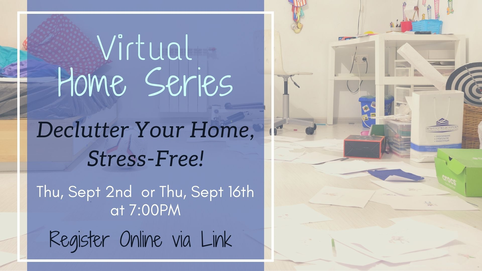 Home Series: Declutter Your Home, Stress-Free!