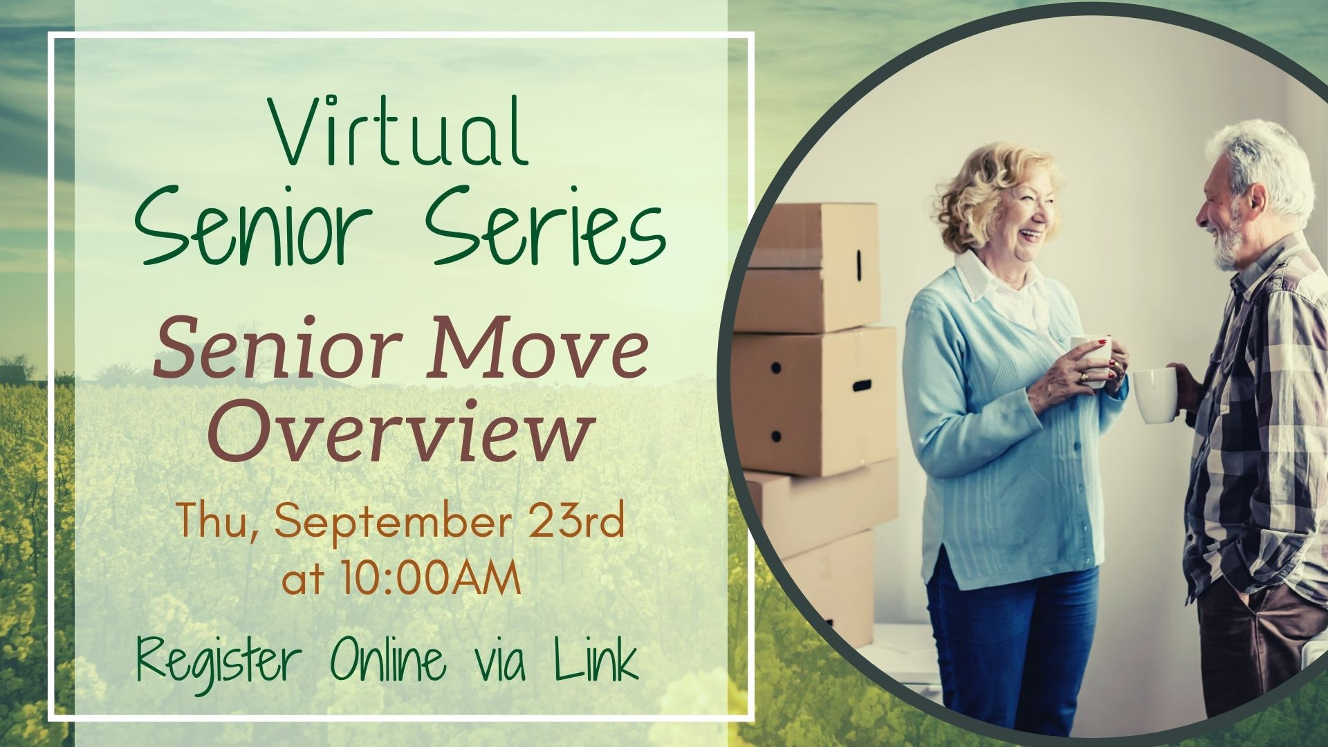 Senior Series: Senior Move Overview