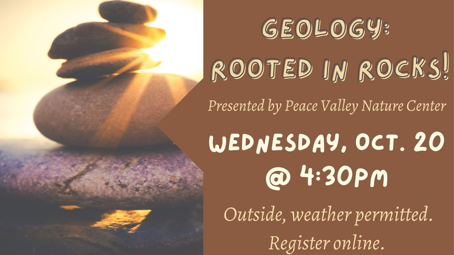 Peace Valley Nature Center: Geology