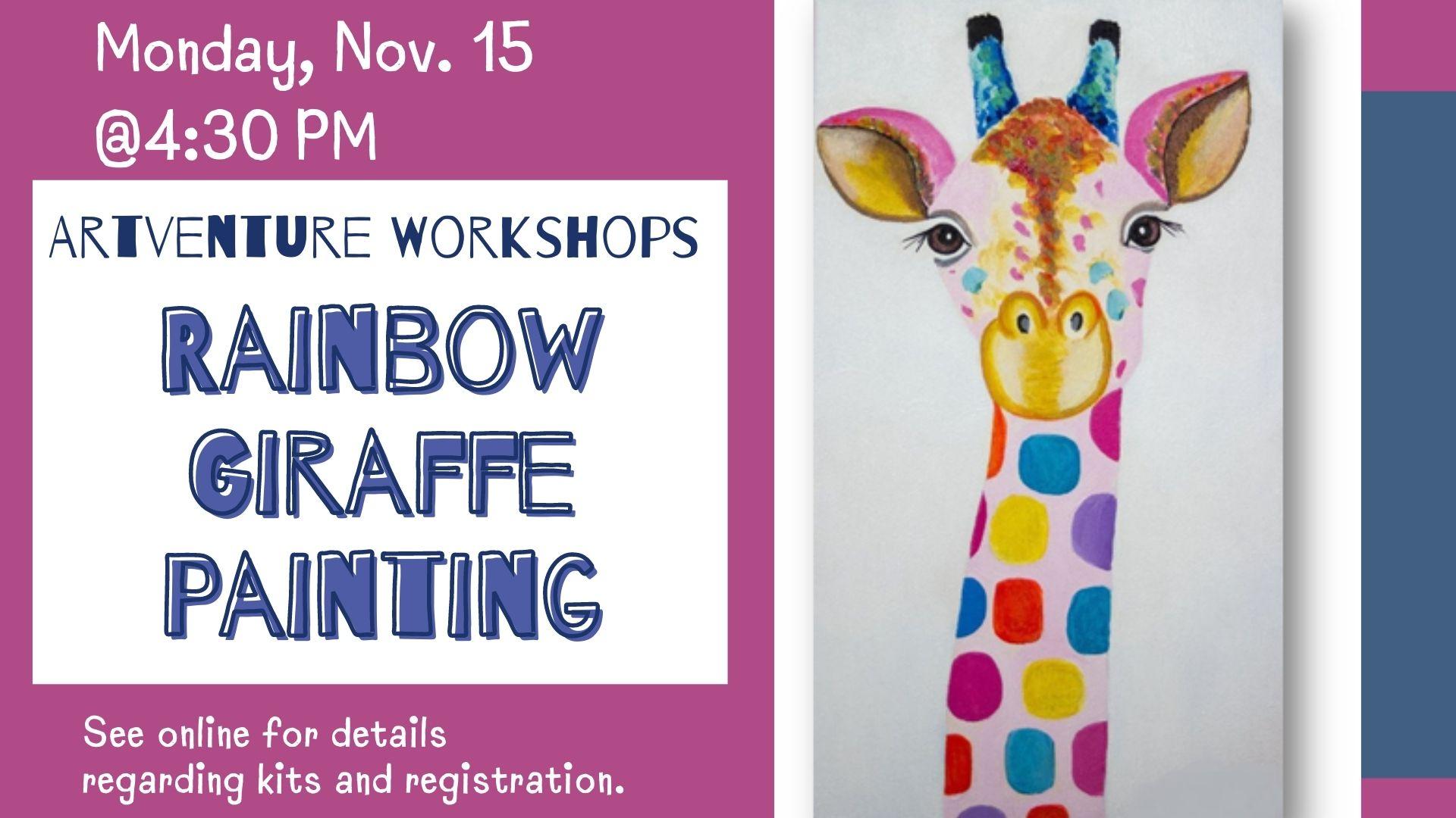 Artventure Workshops [Gr. K-4]