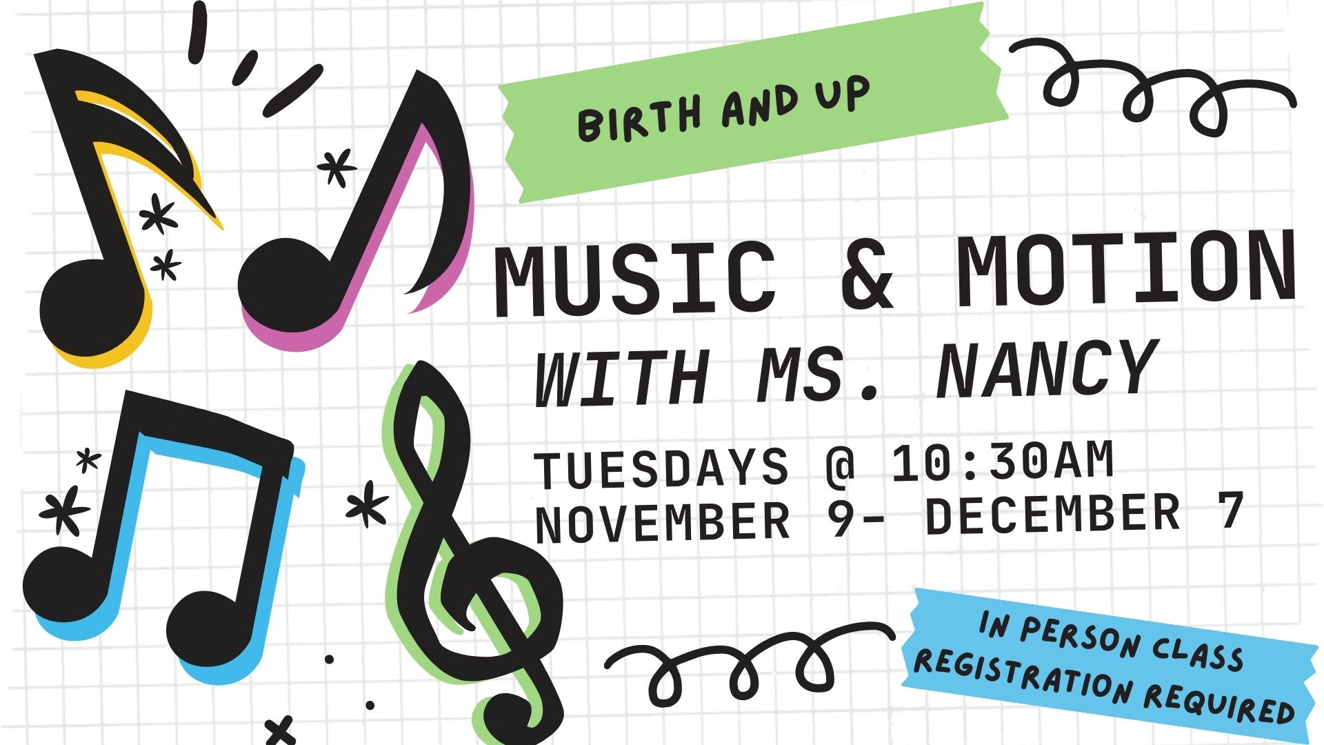 Music and Motion with Ms. Nancy