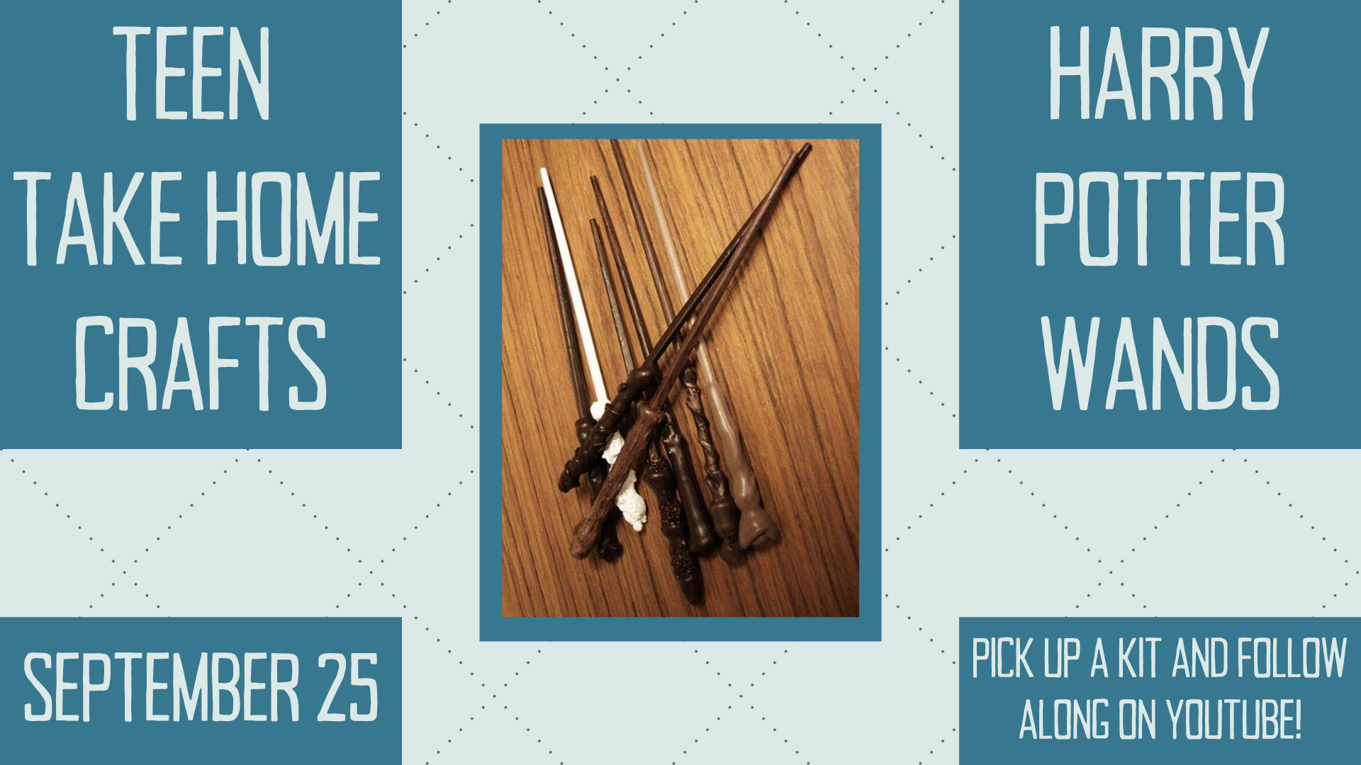 Teen Take Home Craft: Harry Potter Wand