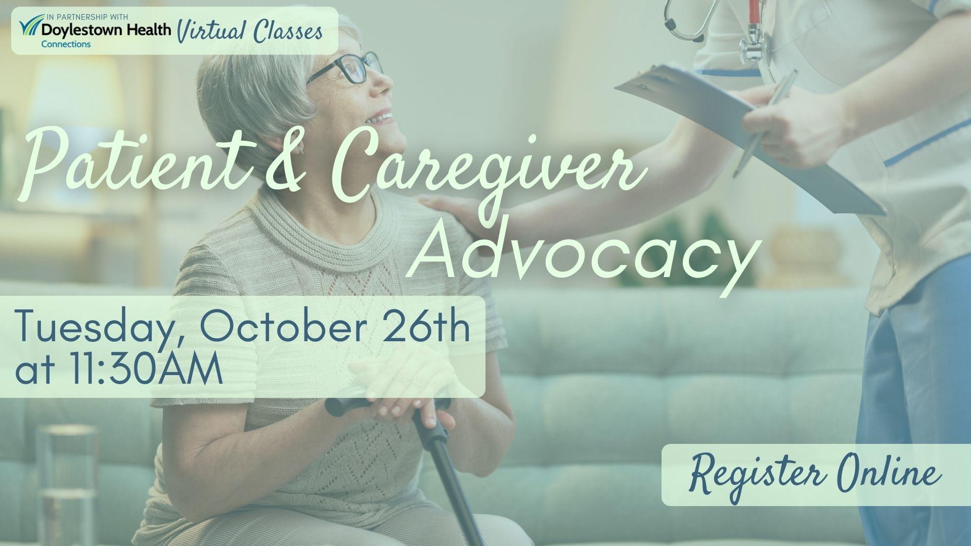 Patient & Caregiver Advocacy