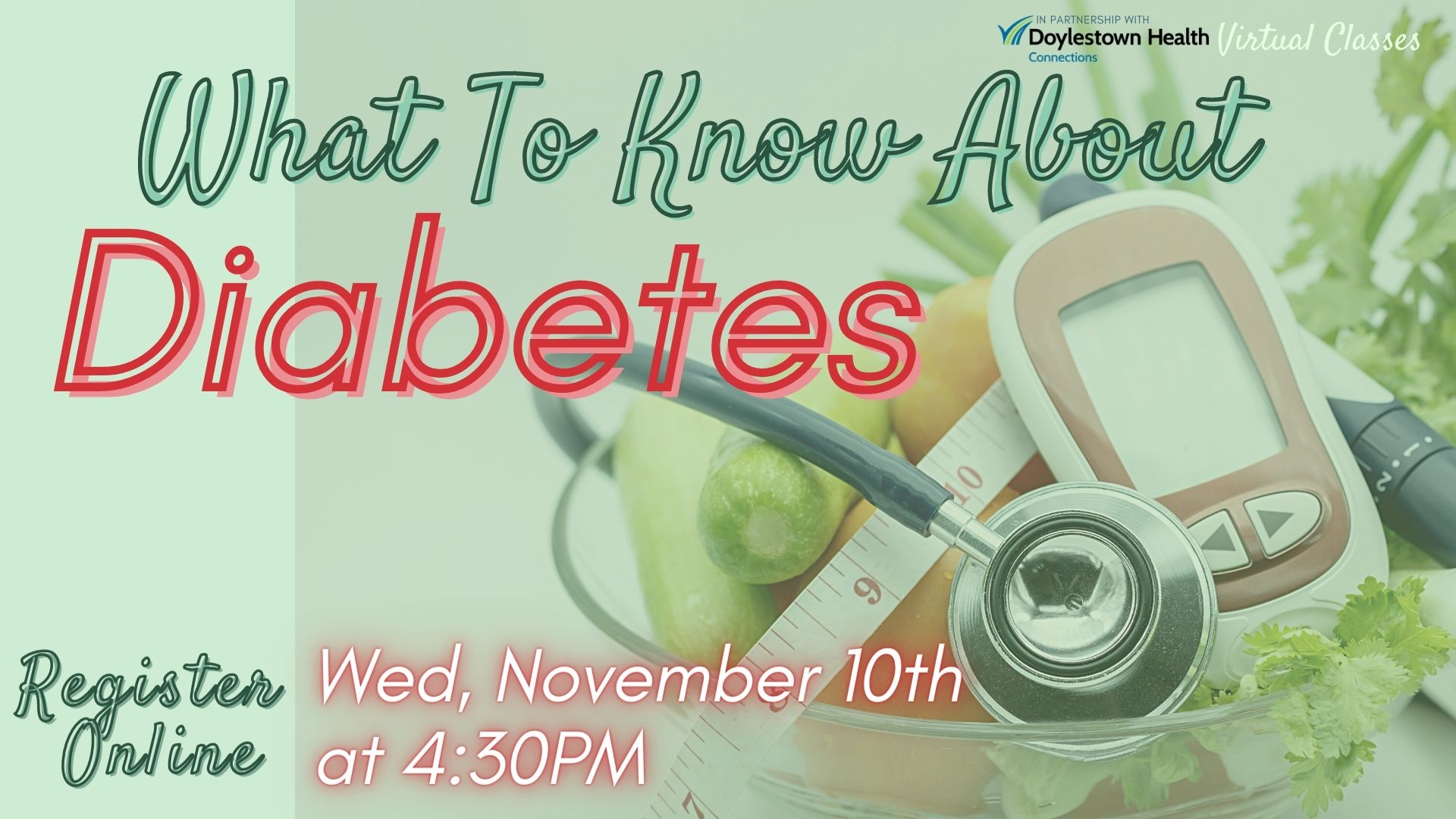 (Webinar) What to Know About Diabetes