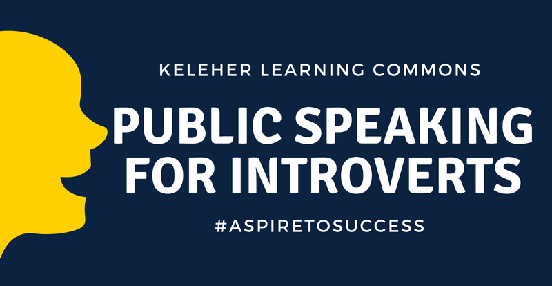 Learning to Learn: Public Speaking for Introverts