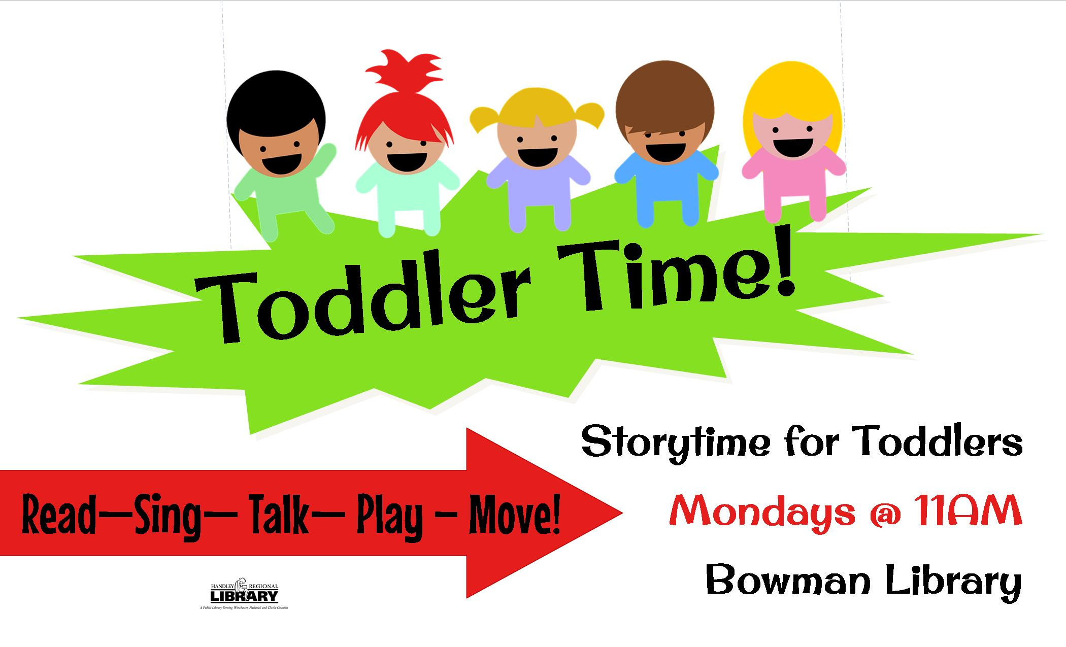 Toddler Time! BL