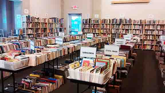 Friends of HRL Summer Book Sale