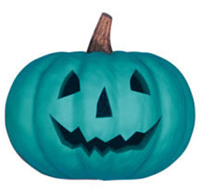 Halloween Teal Pumpkin BL