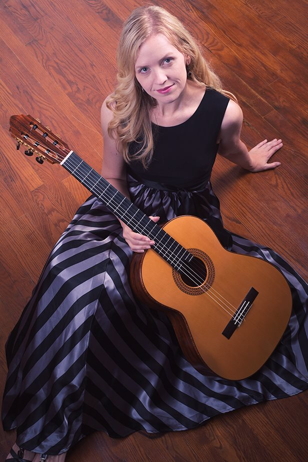 Little Noon Music  with classical guitarist, Candice Mowbray