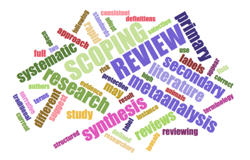 Literature Reviews: A summary of different types