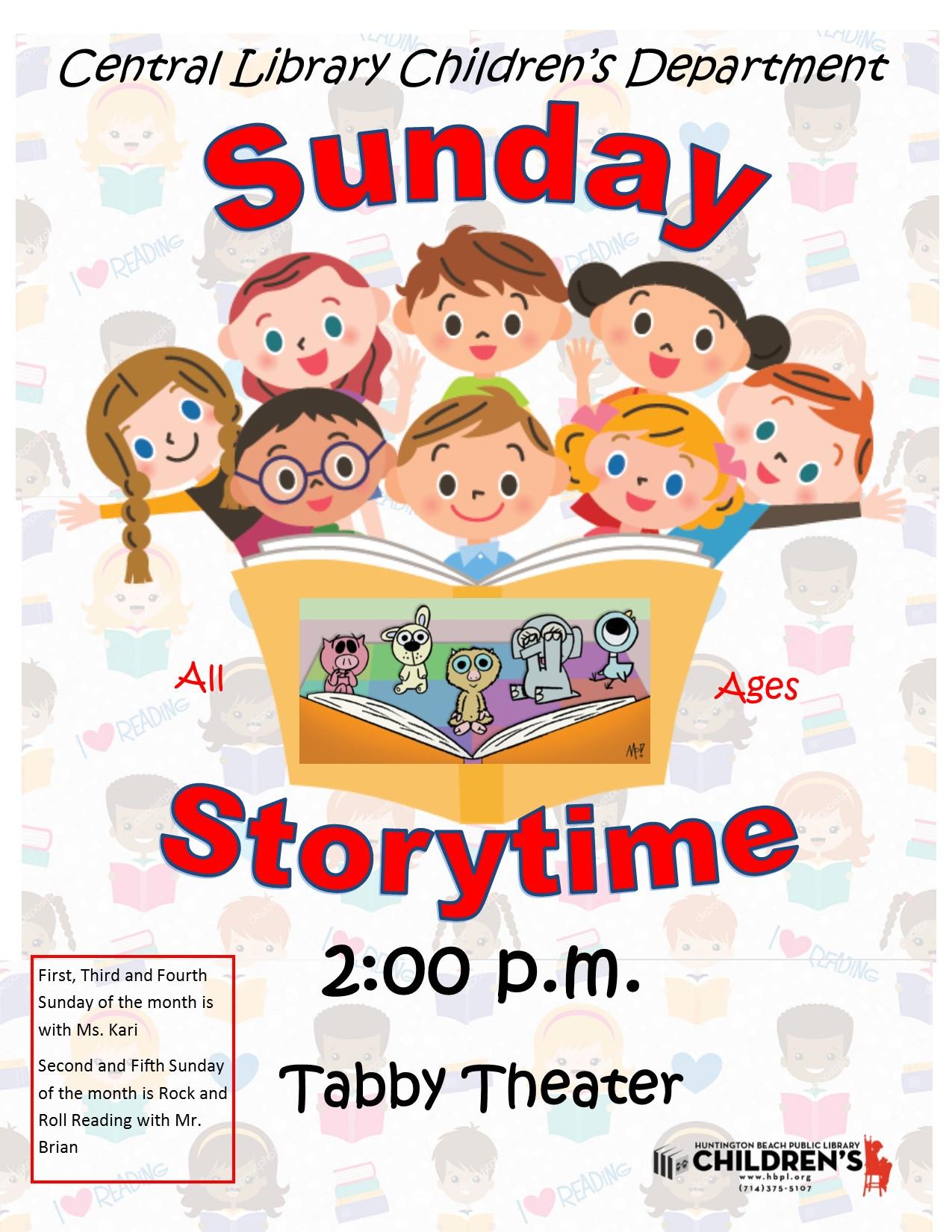 Sunday Storytime