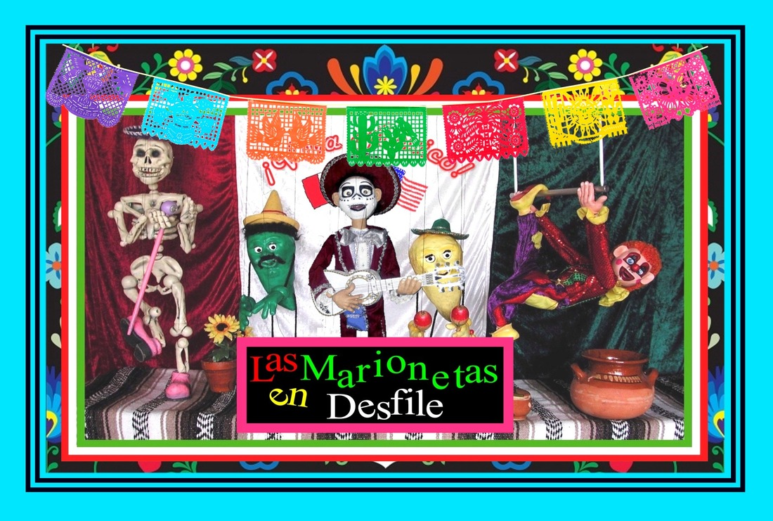 Franklin Haynes Day of the Dead/ Puppets on Parade Marionette Show