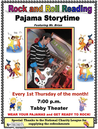 Family Evening Pajama Storytime