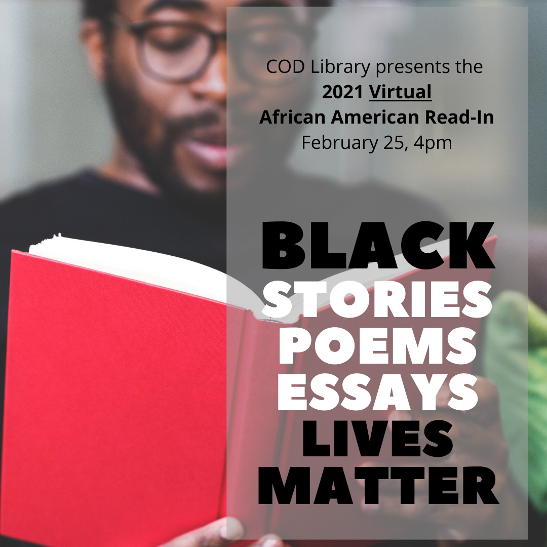 2021 African American Read-In