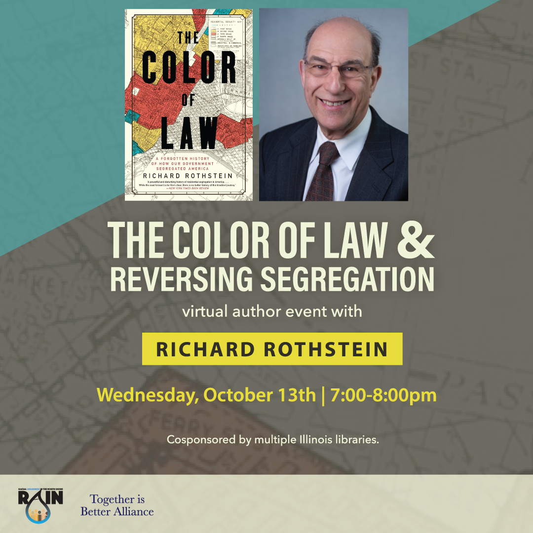 The Color of Law & Reversing Segregation with Richard Rothstein