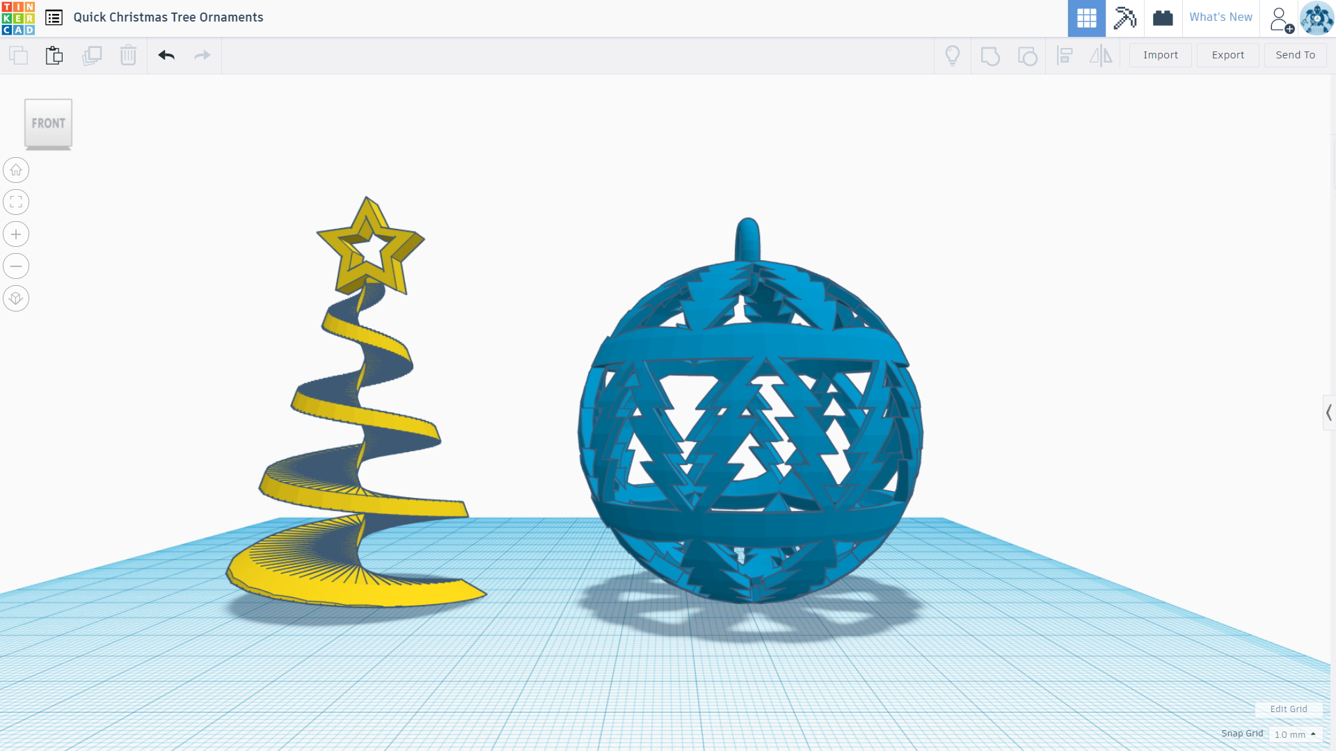 Tinkercad Trim-A-Tree