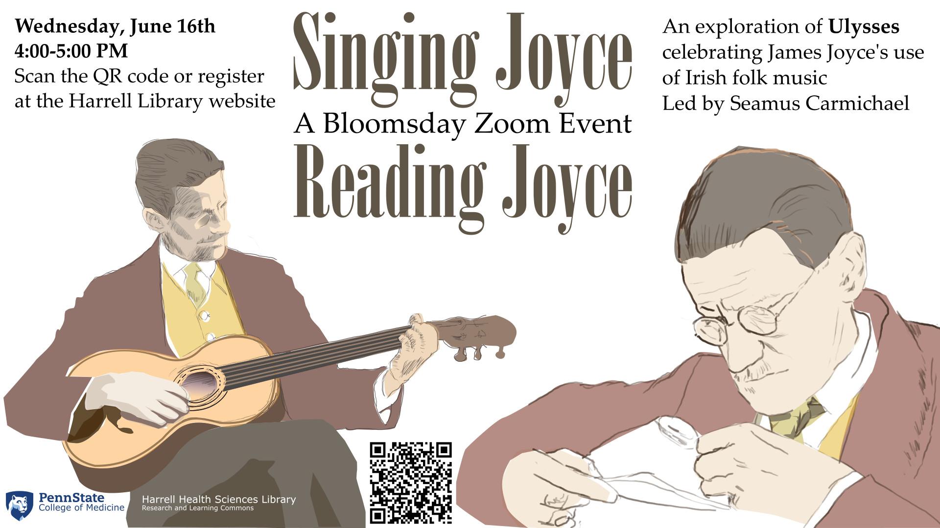 Reading Joyce, Singing Joyce