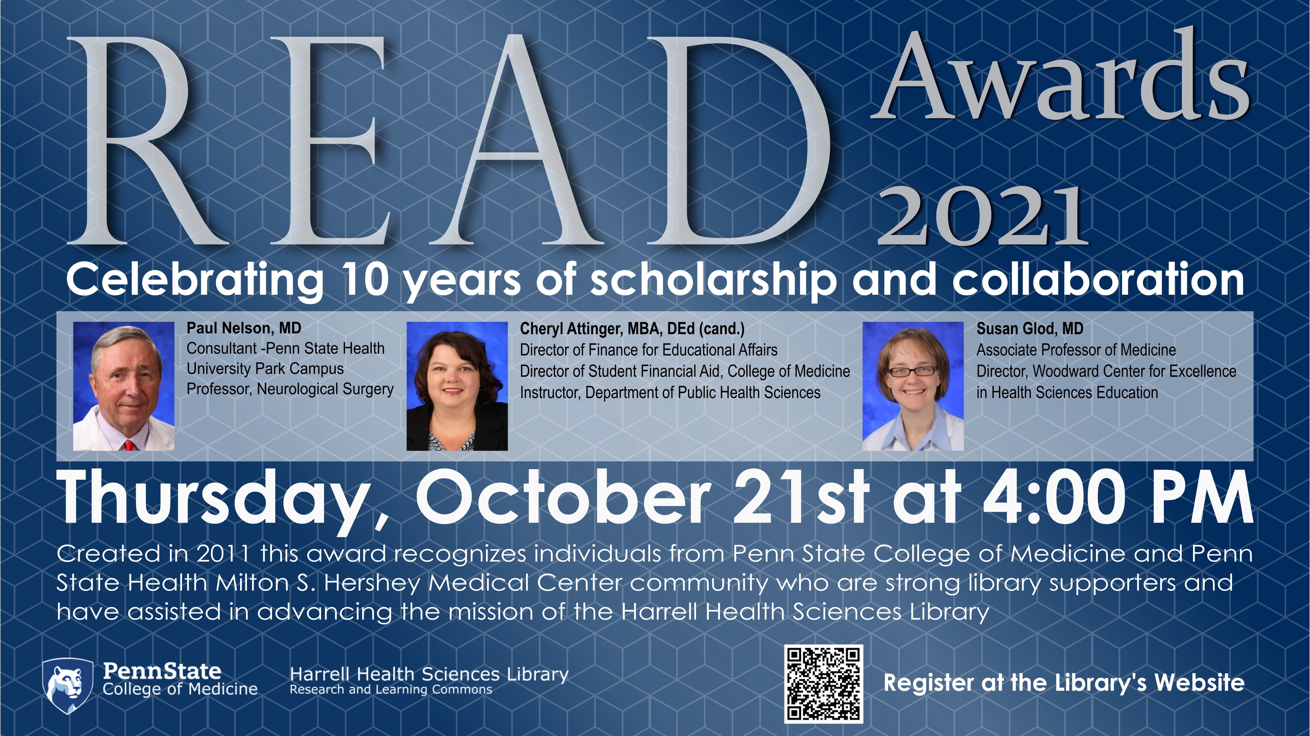READ Poster Recognition Award