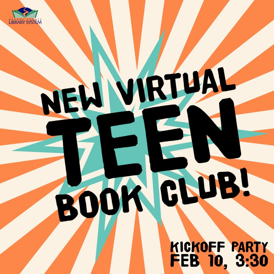 Teen Book Club - Kickoff Party!