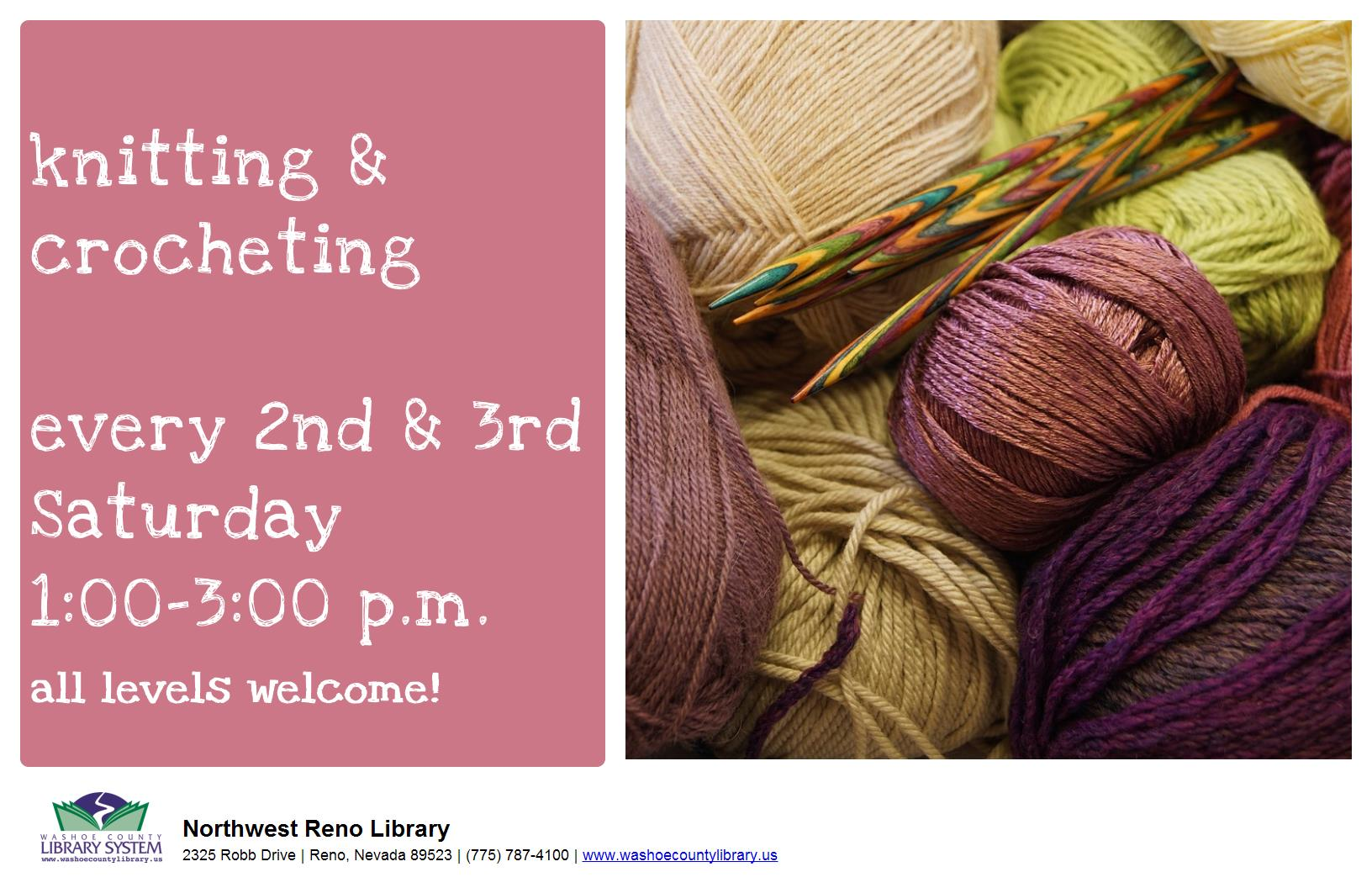 Knitting & Crochet Club