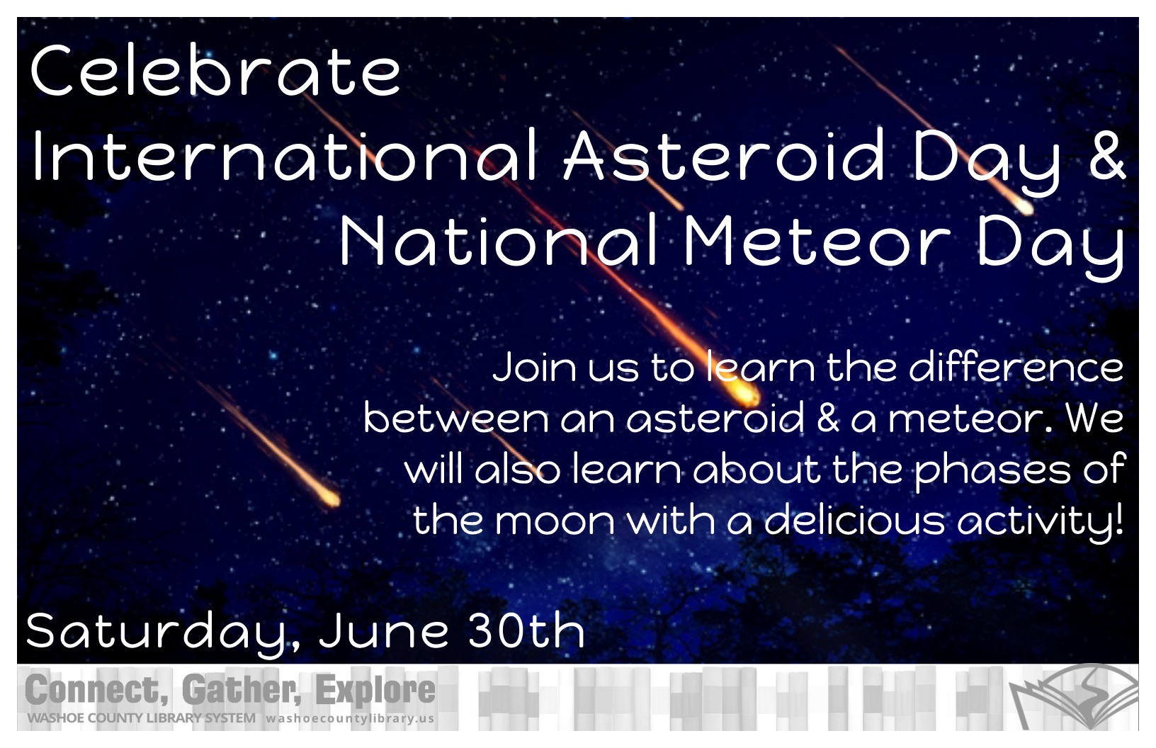 In Celebration of International Asteroid Day & National Meteor Watch Day