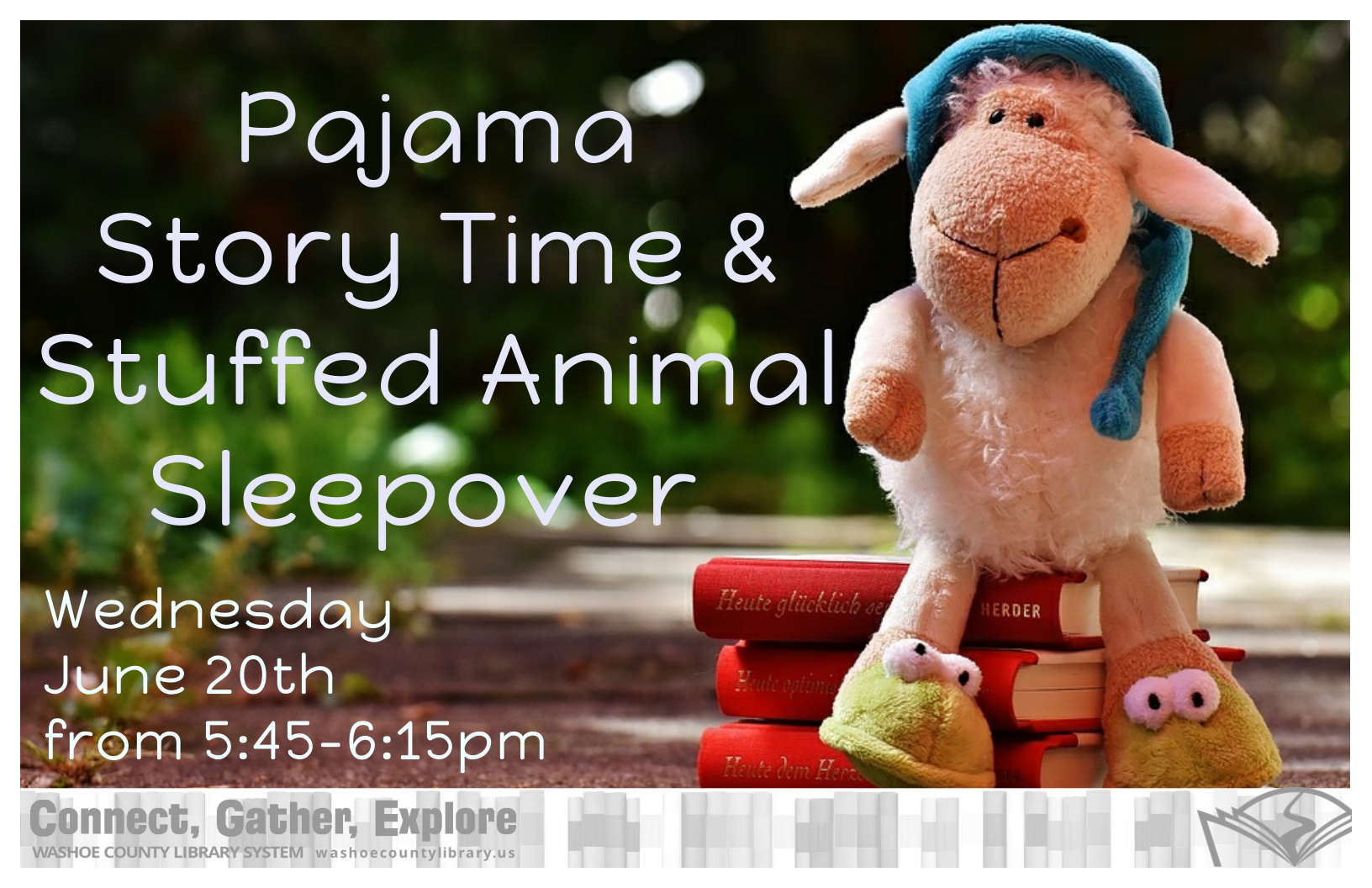 Pajama Story Time and Stuffed Animal Sleepover