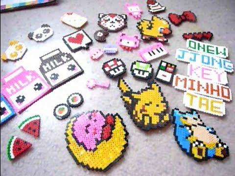 K-Pop Perler Beads